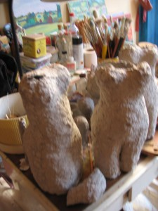 sculptures en cours