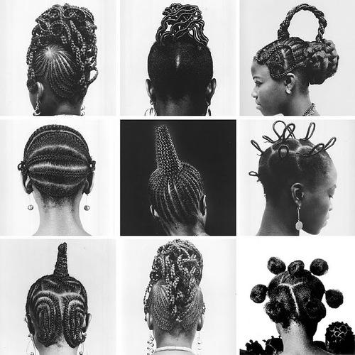 Inspiration, J.D.Ojeikere, Photographie, Cheveux, Coiffures Africaines