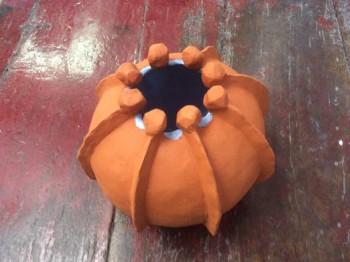 Le pot araignée - Poterie - terre cuite - céramique