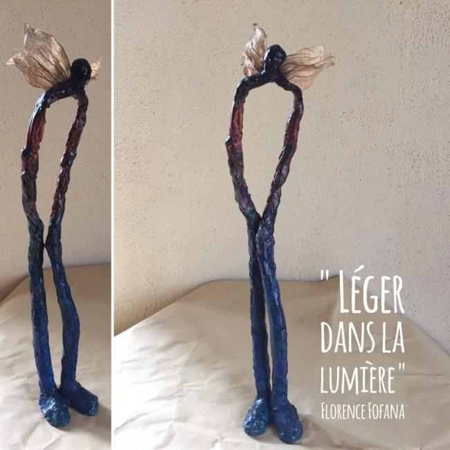 Sculpture - Personnage - Papier mâché